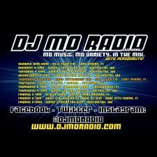 DJ Mo Radio Fri Sep 28 with WPRK on WPRK 91 5 Winter Park