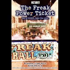 Freak Power Ticket